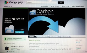 Playstore Carbon