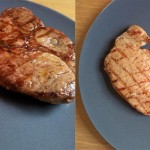 Grillmuster Steak