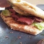Piadine mit Steak